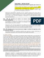 CURSO DE FÉRIAS - PROCESSO PENAL