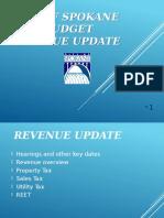 2016 Budget - September Revenue Update