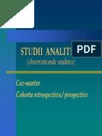 Studii Analitice (Observationale Analitice)