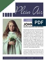 The Plein Air, Fall 2015 Issue
