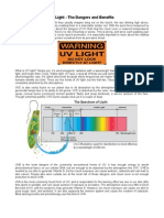 UV Light - The Dangers and Benefits