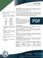 Vitec 2000 Antiscalant Datasheet