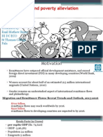 Remittances and Poverty Alleviation New