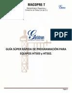 Guía Para HT503-HT502