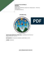 Informe Final Practica Administrativa