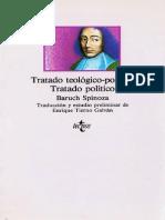 Tratado Teológico Político Baruch Spinoza