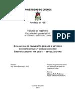 TESIS - Tesis Para Evaluar Un Pavimento Mediante El Retrocálculo
