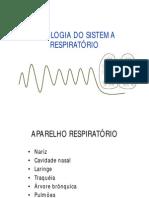 Fisiologia Do Sistema Respiratório