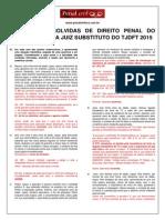 Prova (Tjdft - Resolução) - Penal- Para Publicação