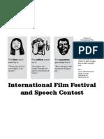 Division a International Film Festival and Speech