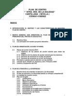 Proyecto de Plan de Centro Para c.e.i.p. Ntra. Sra. de La Soledad