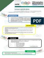 Olimpiadas matemáticas SENA 2015