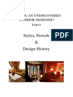 Syles Periods and Design History