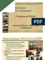 2010 US Africa Command Command Brief (USAFRICOM)