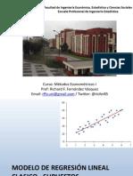 3° Clase Econometría - 2015 II