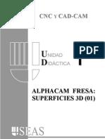 Alphacam Tutorial 3d 01