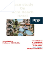 Case Study on Acra Beach