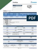 Equipos PAQ 1 - Technical Data Sheet Copy of Equipos Paquete 100 Percent AE - Hospital El Carmen