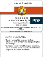 Referat Tonsilitis