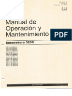 Manual de Operacion y Mantenimiento CAT 320D