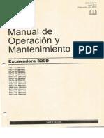 Manual de Operacion y Mantenimiento CAT 320D