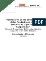 Verificación Dimensiones Fundaciones EstructurasSS