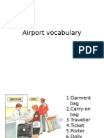 airport vocabulary-