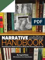 Hippie Boy Narrative Writing Handbook