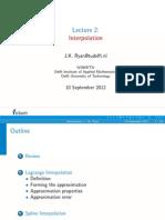 Lecture2 Interpolaticsdson