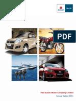 Annual Report Suzuki 2014
