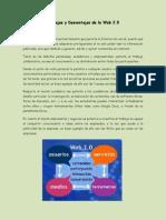 Ventajas y Desventajas Web 2.0