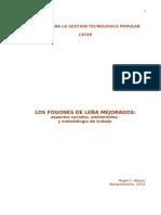 LOS FOGONES de LEÑA MEJORADOS, Aspectos Sociales, Ambientales y Metodología de Trabajo, Version Pdf2