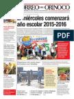 Correo del Orinoco 14/09/2015 N 2149