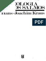 Kraus Teologia de Los Salmos
