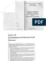 6 - Las Finalidades de La Educacion Social