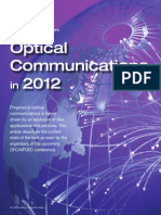 Optical Communications 2012
