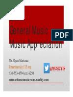 yis presentation music