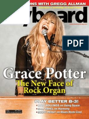 Th e New Face of Rock Organ: Grace Potter
