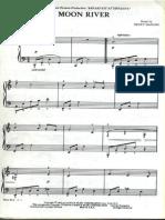 Moon River Piano SheetMusic