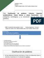 Clase 1_ Clases de Palabras Léxicas y Funcionales_viernes 27-3-2015