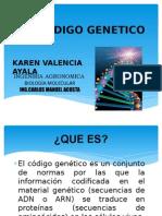 CODIGO GENETICO EXPO