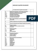 "Manual Completo de Gestiã""n Documental"