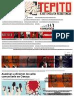 Asesinan a Director de Radio Comunitaria en Oaxaca _ Revolución Tres Punto Cero