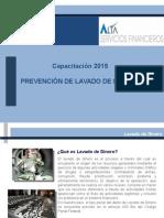 Capacitación PLD 2015