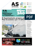 Mijas Semanal nº652 Del 18 al 24 de septiembre de 2015