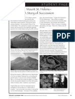 mount st helens a story of succession