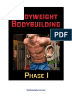 Bodyweight BodyBuilding Phase 1-3
