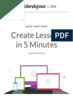 Blendspace Quick Start Guide