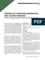 Articulo Mortalidad Materna en Peru