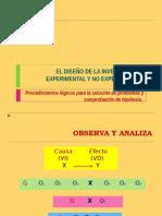 El Diseño de La Investigación